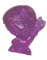 Pua (fialový průsvitný)