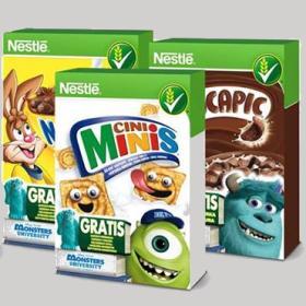 Figurky cereálie Nestlé