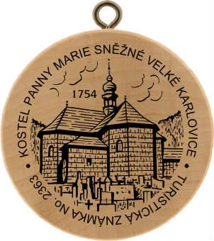 Kostel Panny Marie Sněžné Velké Karlovice