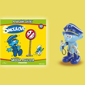 Šmoula policista