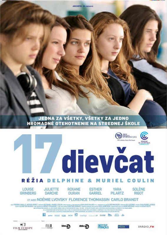 17 dievčat