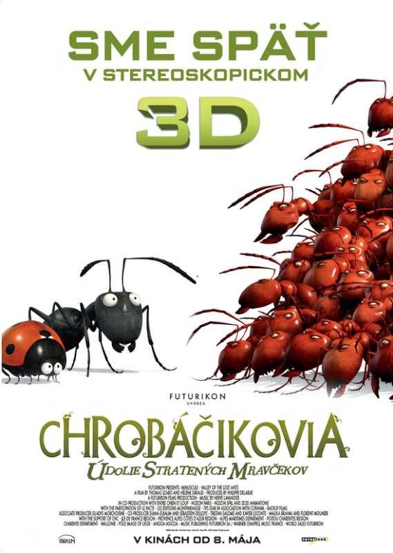 Chrobáčikovia: Údolie stratených mravčekov