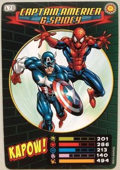 Captain America & Spidey