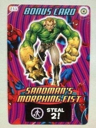 Sandman's Morphing Fist
