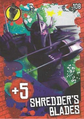 Shredder's Blades