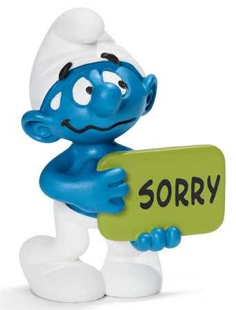 Šmoula jako omluva