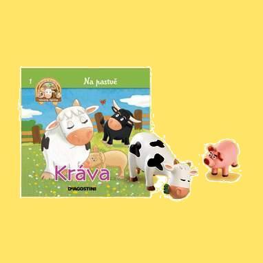 Na pastvě - Kráva