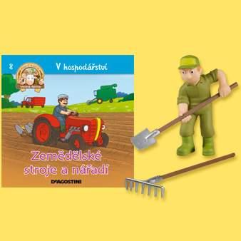 V hospodářství - Zemědělské stroje a nářadí