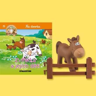 Na dvorku - Zvířátka ajejich děti