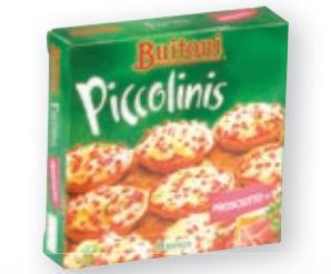 Mini pizza Piccolinis