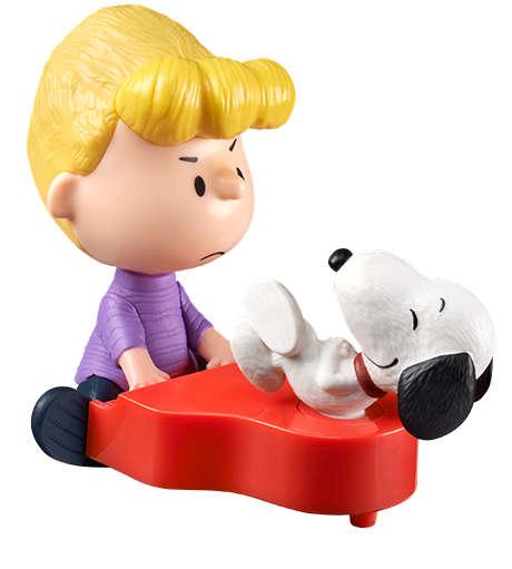 Schroeder a Snoopy