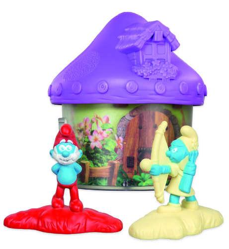 Světle fialový domeček