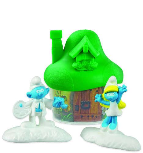 Světle zelený domeček