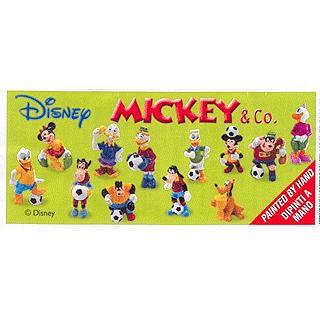 Mickey and co. fotbal BPZ