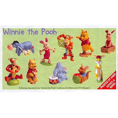 Winnie the Pooh 3 BZP