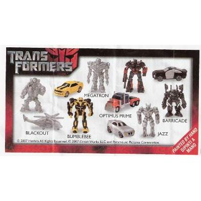 Transformers BPZ