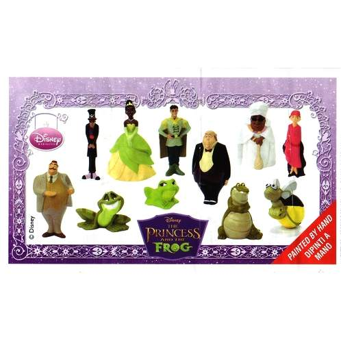 The Princess and the Frog BPZ