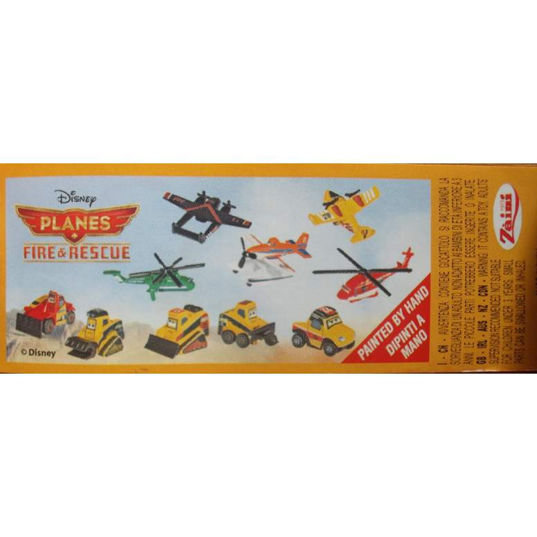 Disney Planes Fire and Rescue BPZ