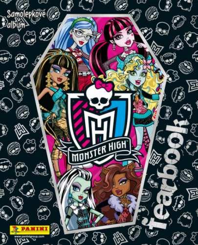 Samolepkové album Monster High Fearbook