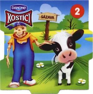 Pasení kraviček na Sázavě