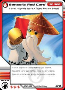 Sensei's Red Card