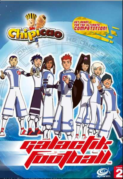 Samolepkové album Chipicao Galactik Football