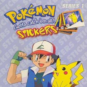 Pokémon samolepky Artbox