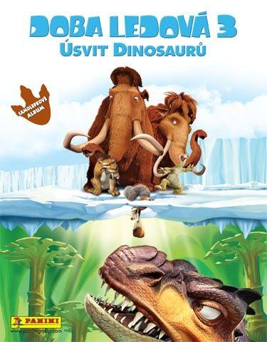 Samolepkové album Doba ledová 3: Úsvit dinosaurů