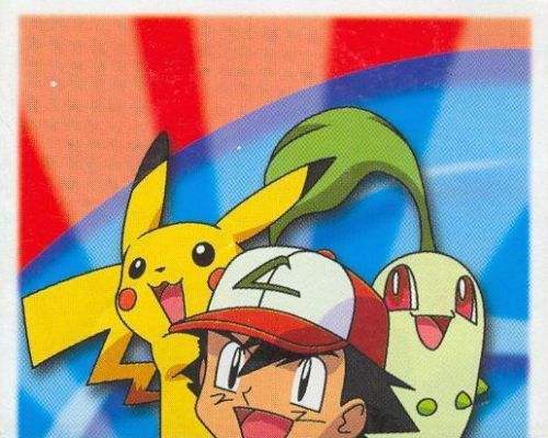 Ash, Pikachu a Chikorita (1/3)