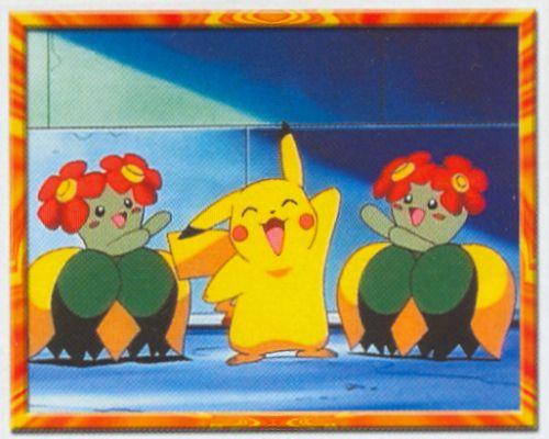 Pikachu a Bellossom