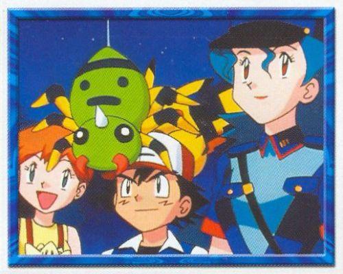 Misty, Spinarak, Ash a Jenny