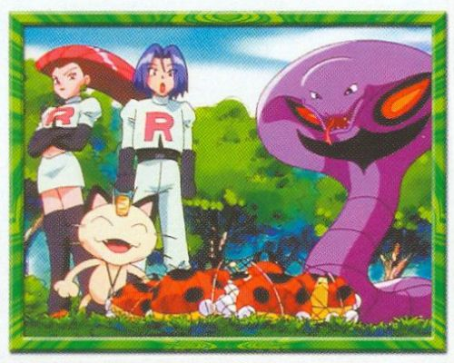 Team Rocket a Ledyba