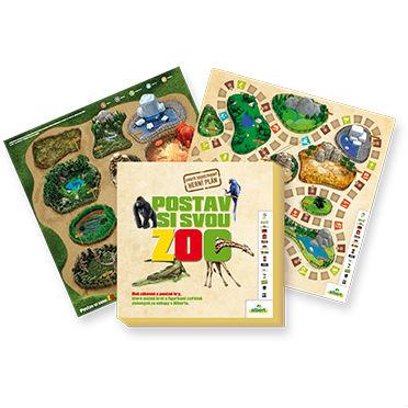 Herní plán Postav si svou Zoo