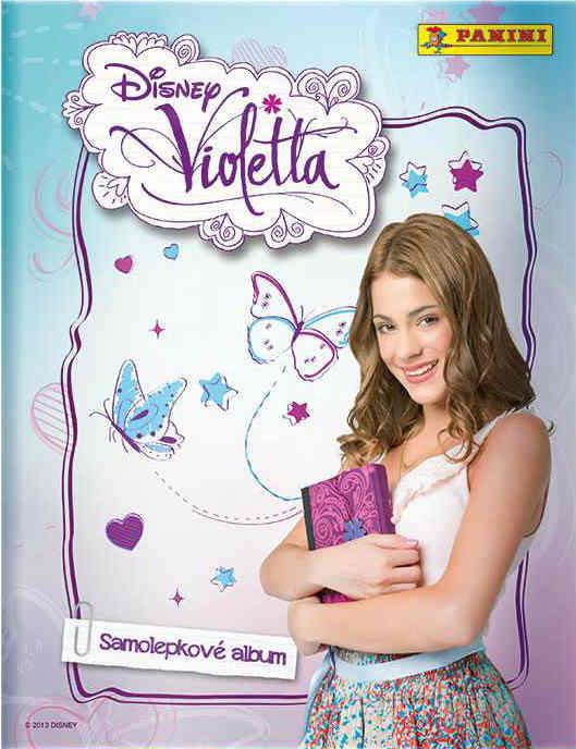 Samolepkové album Disney Violetta