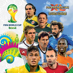 Karty Panini 2014 FIFA World Cup Brazil
