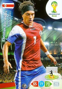 91 christian bolanos karty panini 2014 fifa world cup