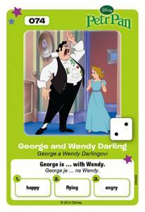 George a Wendy Darlingovi