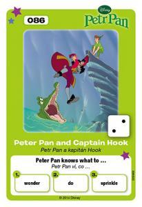 Petr Pan a kapitán Hook