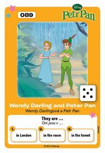 Wendy Darlingová a Petr Pan