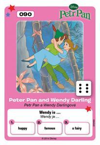 Petr Pan a Wendy Darlingová