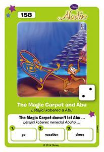 Létající koberec a Abu