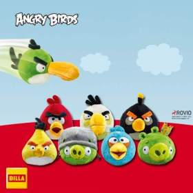 Billa - Plyšáci Angry Birds
