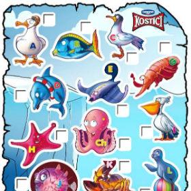Kostíci Mořská zvířátka