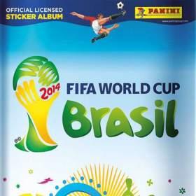 Samolepky FIFA World Cup 2014 Brasil