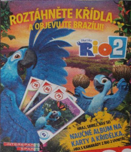 Album Rio 2 - Roztáhněte křídla ...