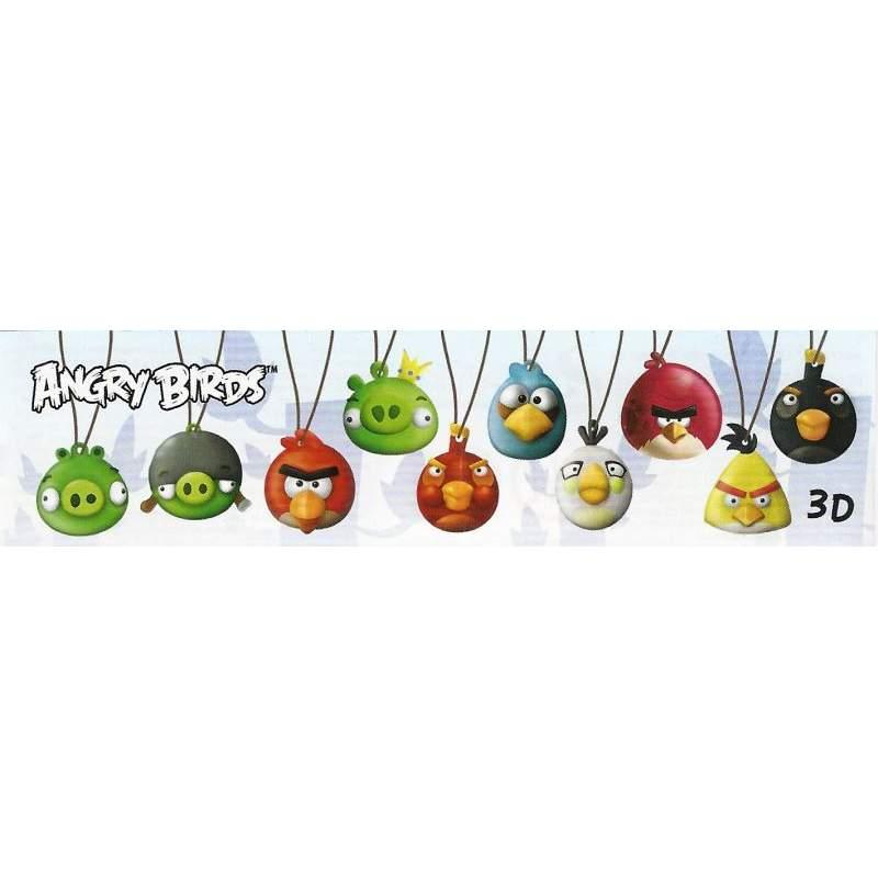 Angry Birds BPZ přívěšky