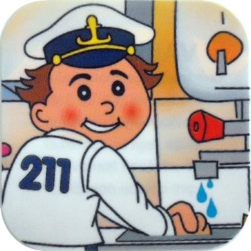 Kapitán Lipánek si myje ruce
