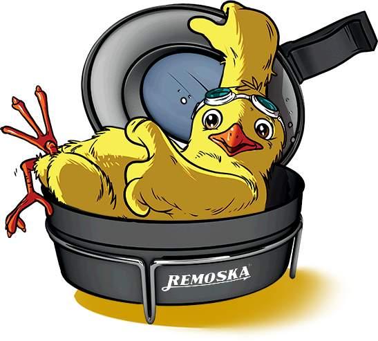 Kuře v remosce