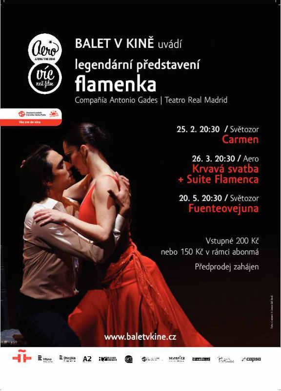 Balet v kině: Flamenka