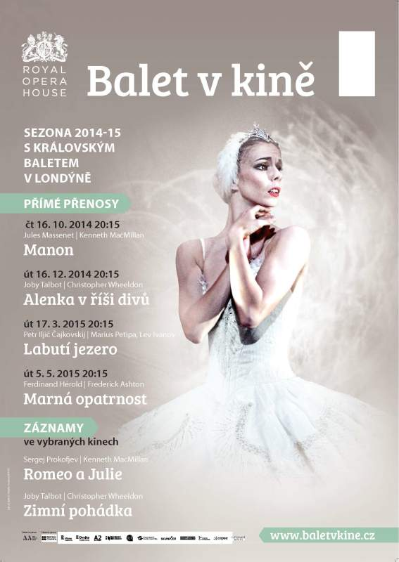 Balet v kině: Sezóna 2014-2015